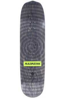 Madness - Slick Nohubo Ring Black 8.5