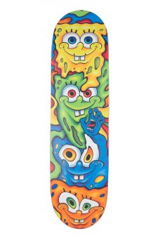 Santa Cruz - Collabo SpongeBob Melt Everslick 8.5in x 32.2in