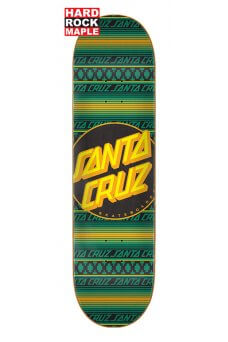 Santa Cruz - Team Serape Dot Hard Rock Maple 8.125in x 31.7in