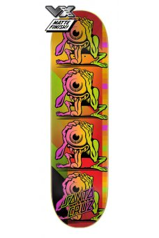 Santa Cruz - Team Afterglow Eyegore VX Deck 8.5in x 32.2in