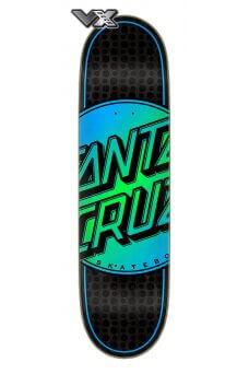 Santa Cruz - Team Total Dot VX Deck 8.5in x 32.2in Santa Cruz