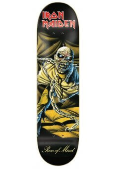 Zero - Iron Maiden Piece Of Mind 8.125""