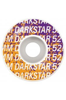 Darkstar - Wordmark Silver 52mm