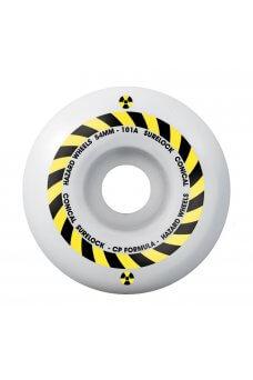 Madness - Concrete Park Formula Hazard Sign CP - Conical Surelock White 54mm