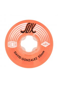 Ricta - 53mm David Gonzalez Crystal Slix Clear Red 99a Ricta