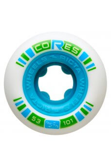 Ricta - 53mm Core Neon Blue 101a