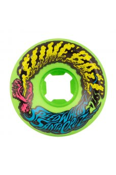 Santa Cruz - 54mm Slime Balls Vomit Mini Neon Green 97a
