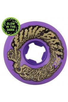 Santa Cruz - 56mm Slime Balls Vomit Mini Neon Purple 97a