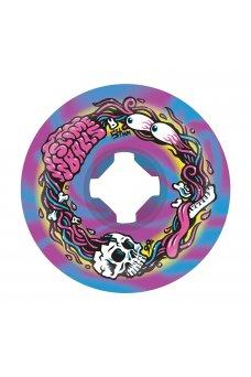 Santa Cruz - 54mm Brains Speed Balls Blue Purple Swirl 99a Slime Balls