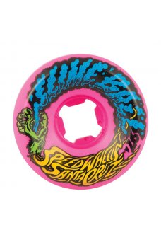 Santa Cruz - 54mm Slime Balls Vomit Mini Neon Pink 97a