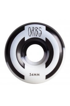 Welcome - Orbs Apparitions - Round - 99A Black/White Split 54mm