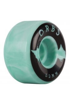 Welcome - Orbs Specters - Conical - 99A Teal/White Swirl 52mm