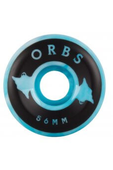 Welcome - Orbs Specters - Conical - 99A Blue/White Swirl 56mm