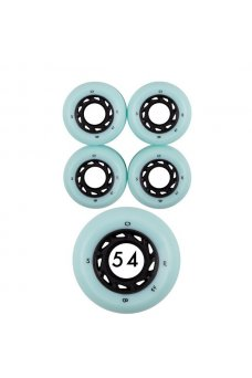 Welcome - Team Orbs Ghost Lites 54mm 102A Light Blue Black