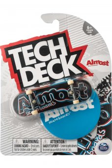 Almost - Neon Red White Blue Tech Deck