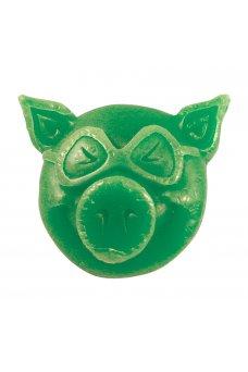 Pig - Head Wax Green