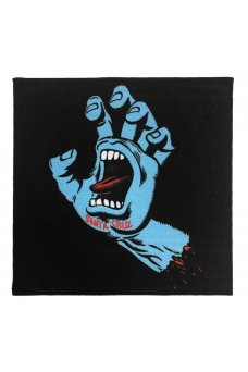 Santa Cruz - Santa Cruz - SCREAMING HAND Rug Black/Blue