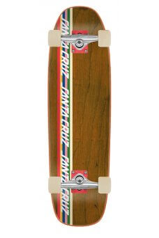 Santa Cruz - Stripe Strip 8.4in x 29.4in Cruzer Shaped Cruzer