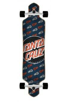 Santa Cruz - Tropic Dot 9.2in x 41in Cruzer Drop Thru