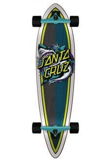 Santa Cruz - Shark Dot 9.58in x 39.0in Cruzer Pintail