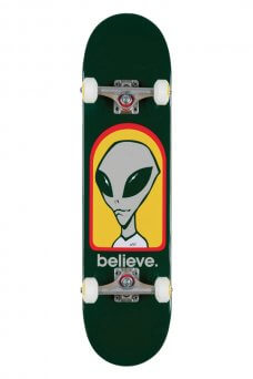 AW - Believe green 7.75 complete