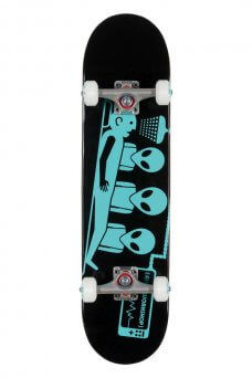 AW - Abduction blk/teal complete 7.75