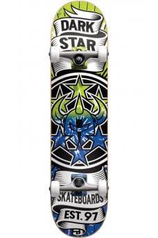 "Darkstar - Civil Soft Wheels Lime Blue Mini 7.0"""