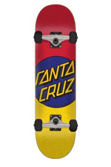 Santa Cruz - Process Dot Sk8 Completes 8.25in x 31.8in