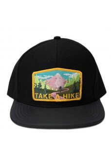 SkateMental - Cappellini Take A Hike Hat Black Leather