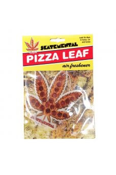 SkateMental - Air Freshener Pizza Leaf Air Freshener
