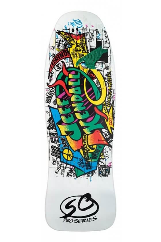 Santa Cruz - Reissue 9.69in x 29.85in Kendall Graffiti