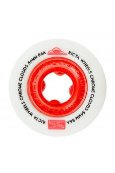 Ricta - 56mm Chrome Clouds Red 86a
