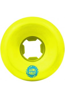 Santa Cruz - 54mm Slime Balls Vomit Mini Neon Yellow 97a