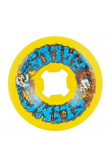Santa Cruz - 56mm Skull Spew Yellow 99a