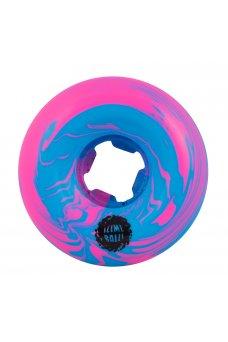 Santa Cruz - 56mm Vomit Mini Blue Pink Swirl 97a
