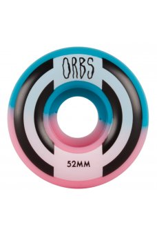 Welcome - Orbs Apparitions - Round - 99A Pink/Blue Split 52mm