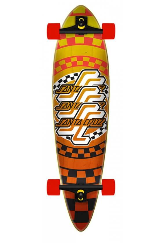 Santa Cruz - Check OGSC 9.58in x 39.0in Cruzer Pintail
