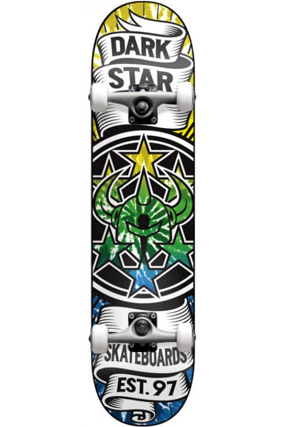 """Darkstar - Civil FP Mid Green Fade 7.375"""""""