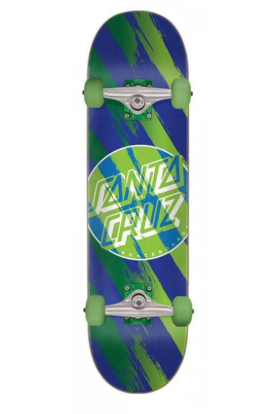 Santa Cruz - Brush Dot Sk8 Completes 7.25in x 29.9in