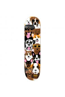 Enjoi - Team Dog Collage R7 Multi 7.75""