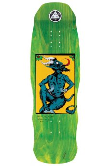 "Welcome - Team Krampus Green 9.75"" On Dark Lord"