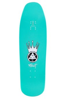 Welcome - Pro Animal Kingdom - Chris Miller Reissue Pro Model Black/Teal Dip 9.6 Gaia