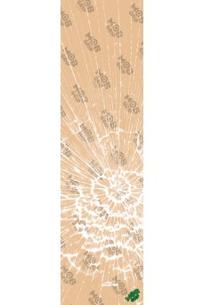Mob - Griptape Grafica Shattered CLEAR Grip Tape Lg Clear Mob