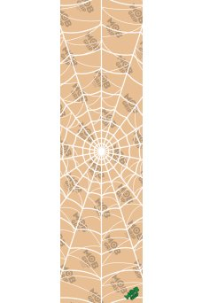 Mob - Griptape Grafica Webbed CLEAR Grip Tape Lg Clear Mob