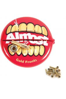 """Almost - Gold Nuts & Bolts In Your Mouth Allen 1"""""""
