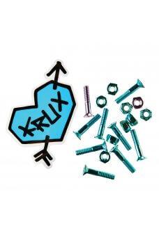 Krux - Krome Phillips Hardware 1 in Blue w/Lavendar