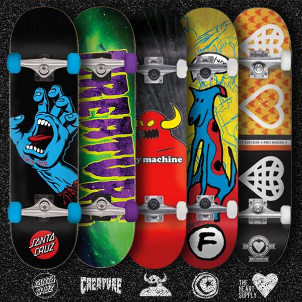 skateboard completi