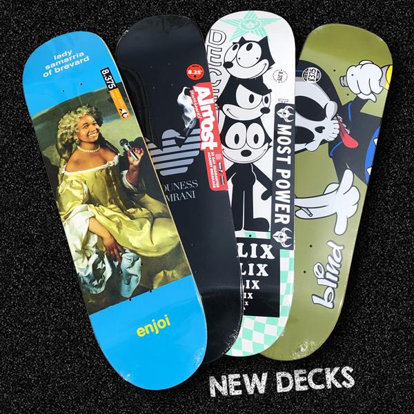 new decks