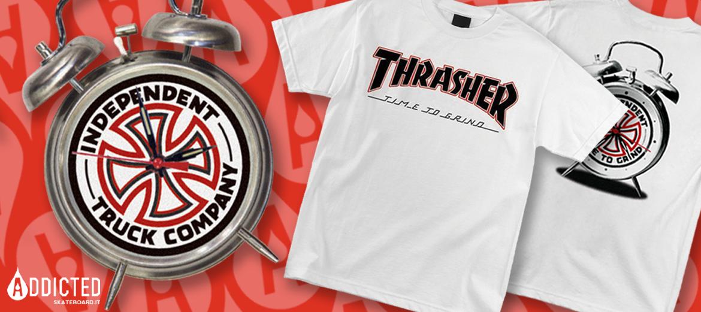 Indy X Thrasher tee