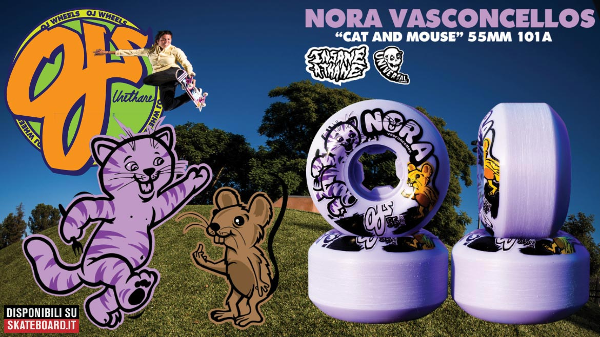 NOra Vasconcellos OJ Wheels Pro Model